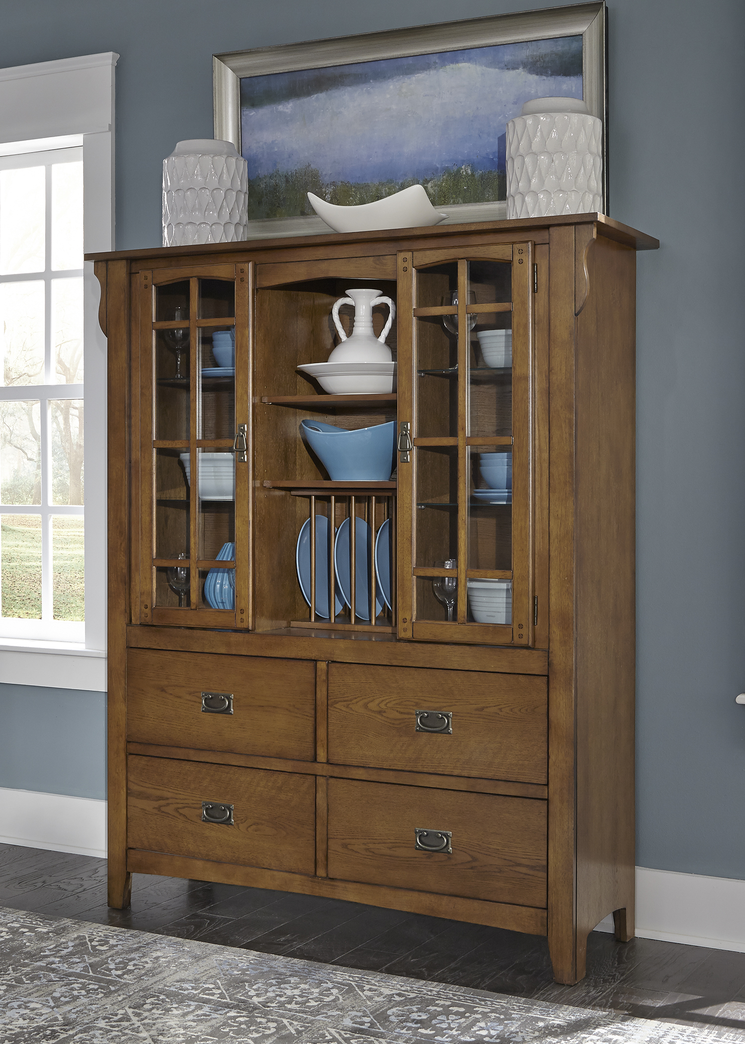 Model: 25-CH5567 | Liberty Furniture Display Cabinet