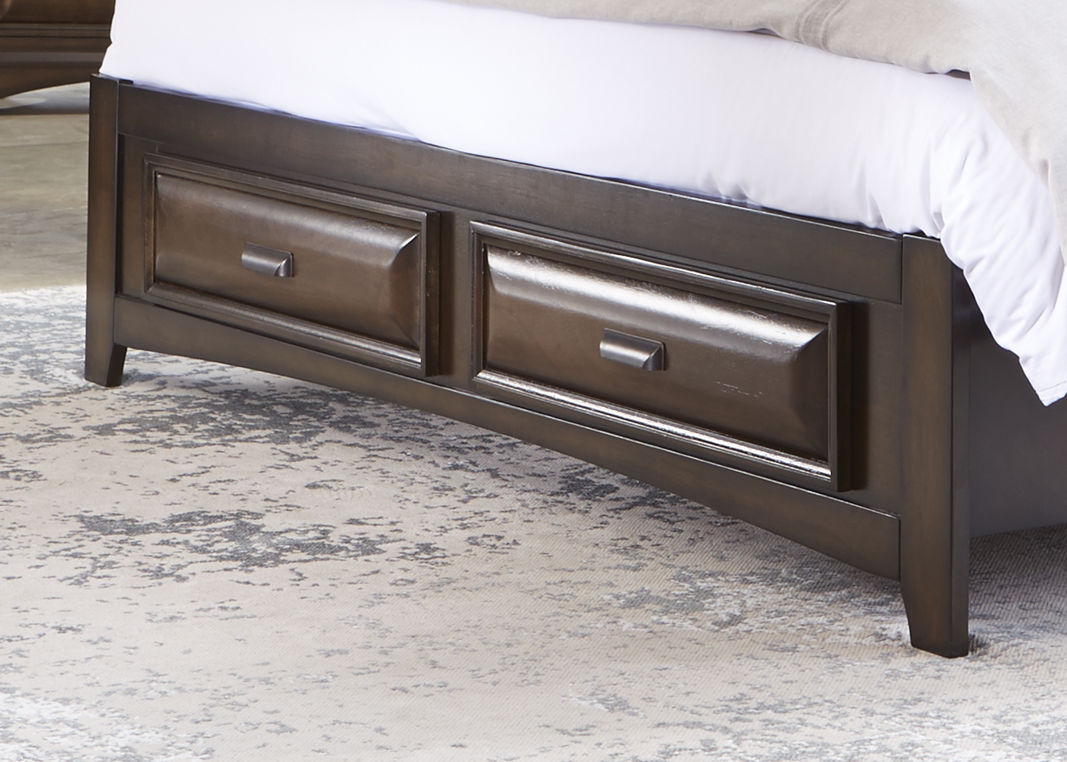Liberty Furniture Queen Storage Bed Drawers
