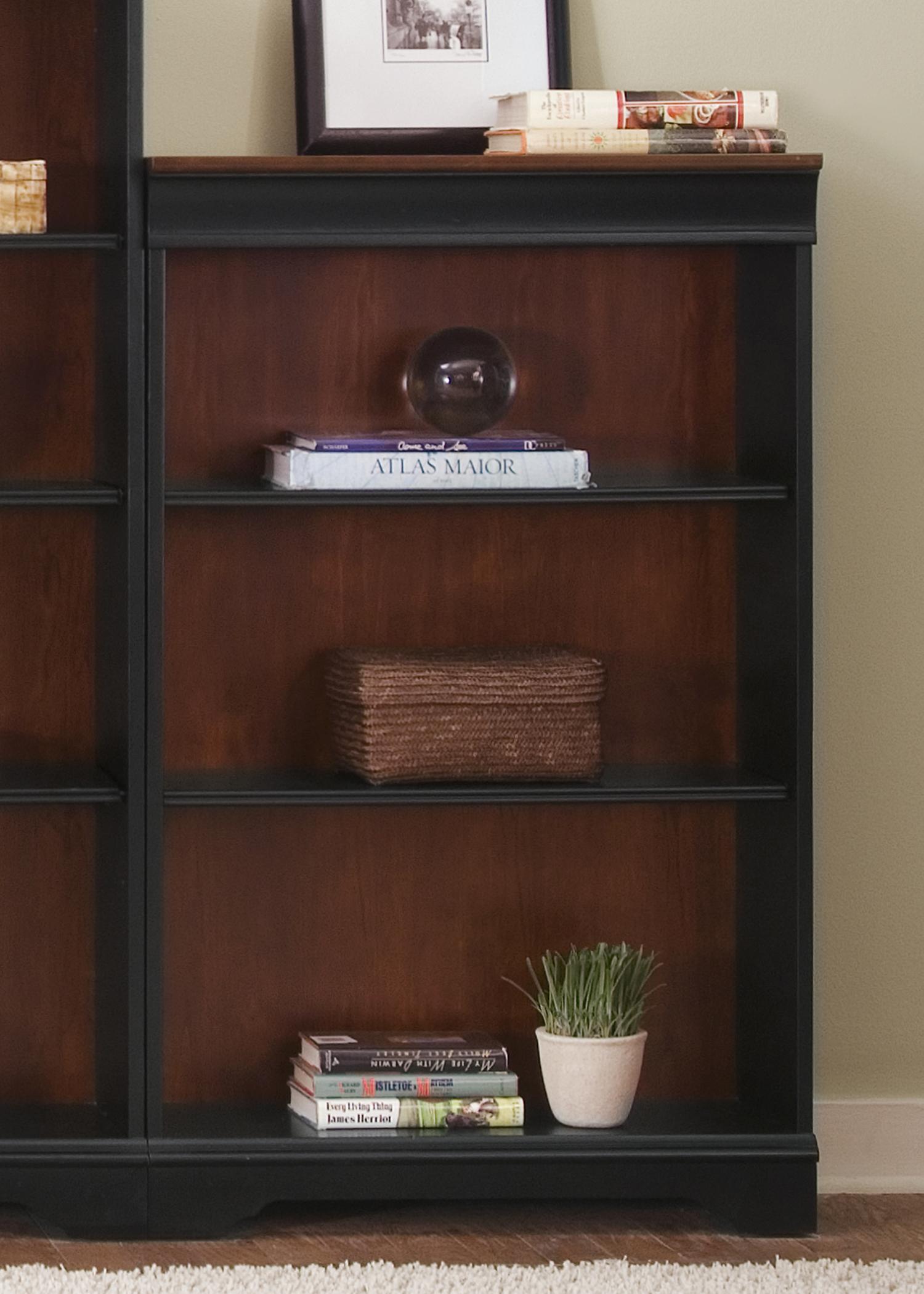 Model: 260-HO3048-RTA   Liberty Furniture Jr Executive 48 Inch Bookcase (RTA)