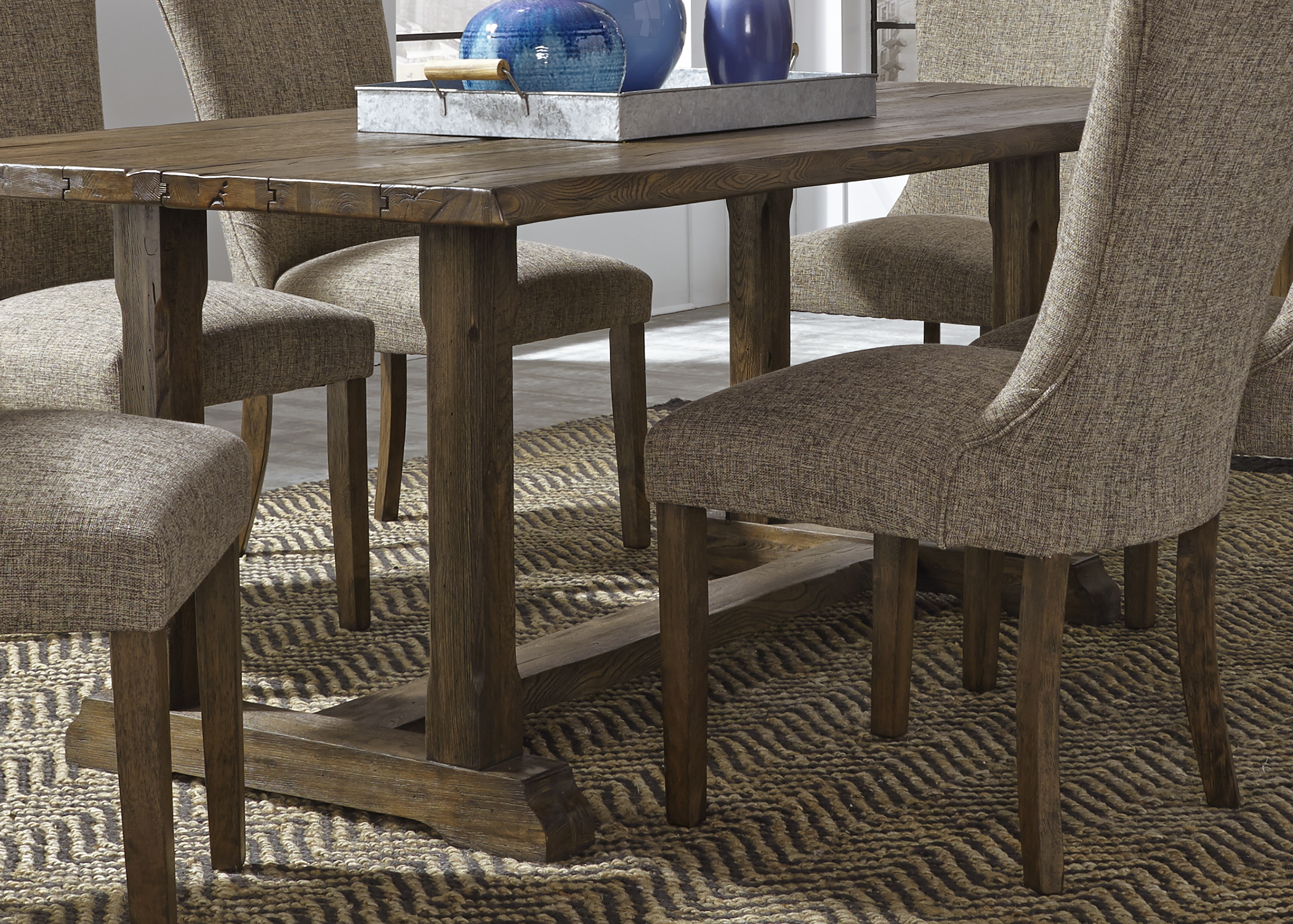 Liberty Furniture Trestle Table Base