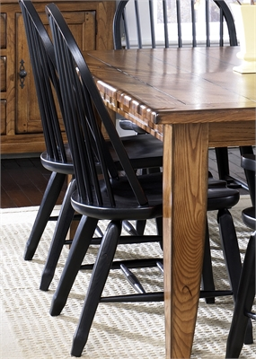 Liberty Furniture Bow Back Side Chair - Black