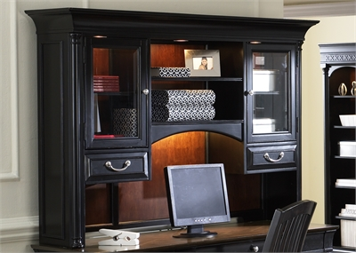 Liberty Furniture Jr Executive Credenza Hutch