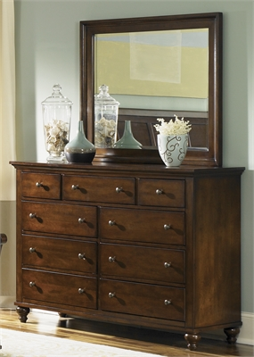 Liberty Furniture 9 Drawer Dresser