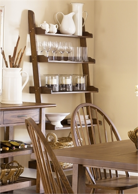 Liberty Furniture Leaning Bookcase