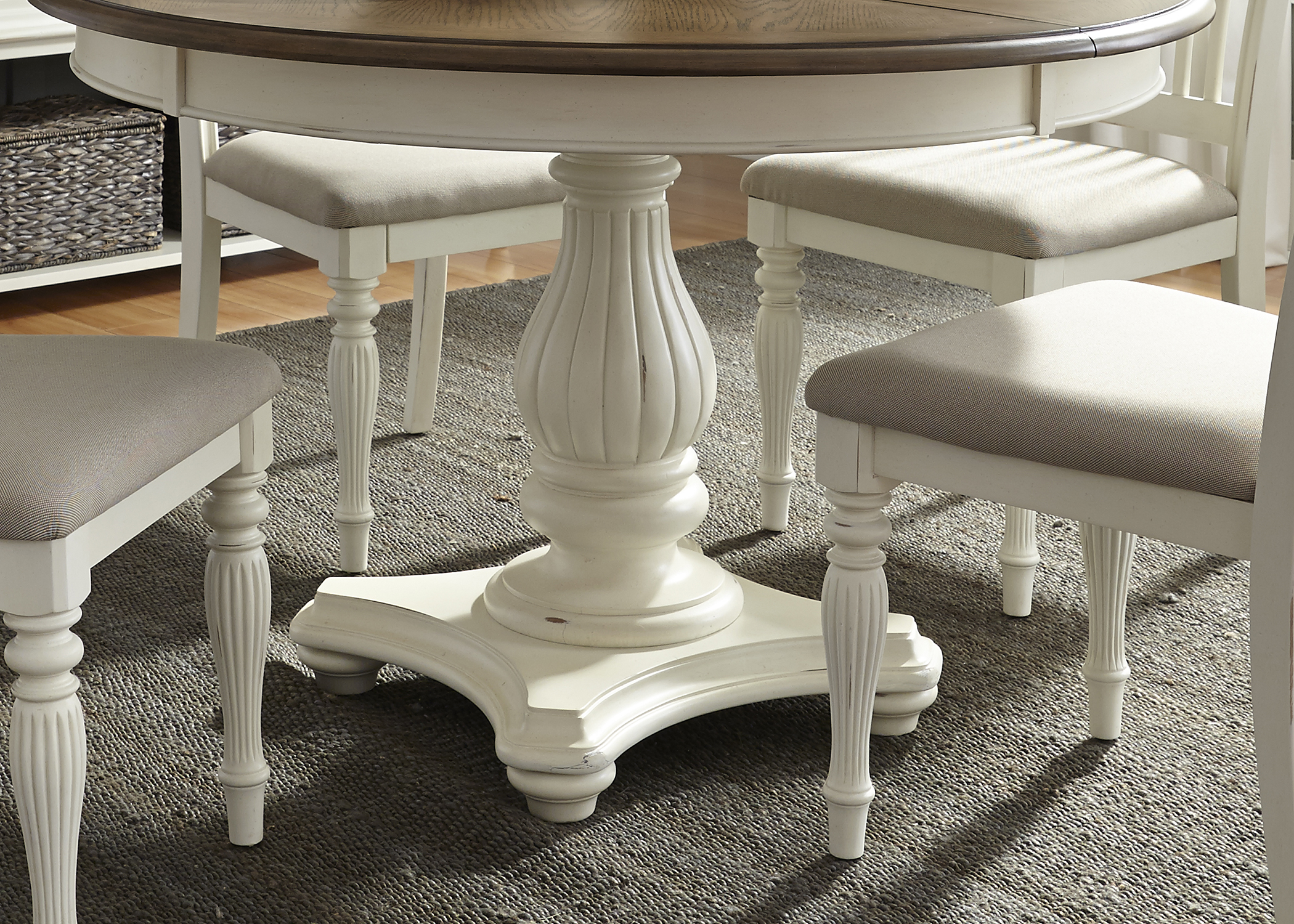 Liberty Furniture Pedestal Table Base