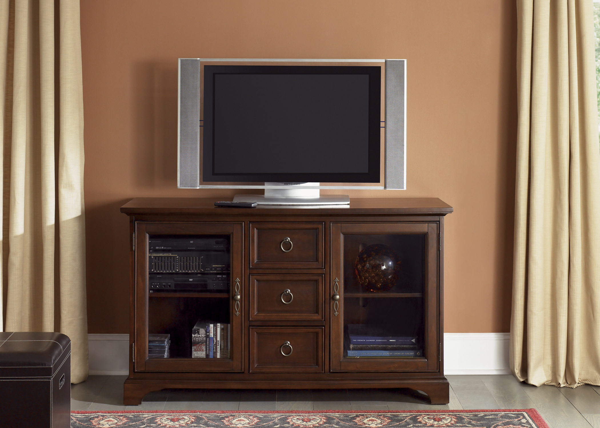 Liberty Furniture TV Console - 54 Inch - Cherry