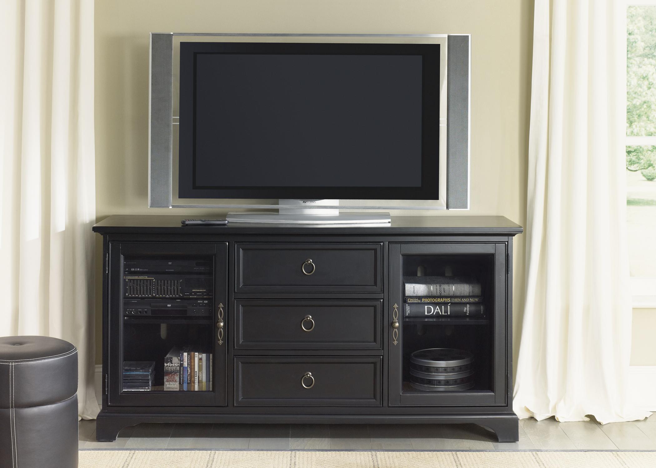 Liberty Furniture TV Console - 64 Inch - Black
