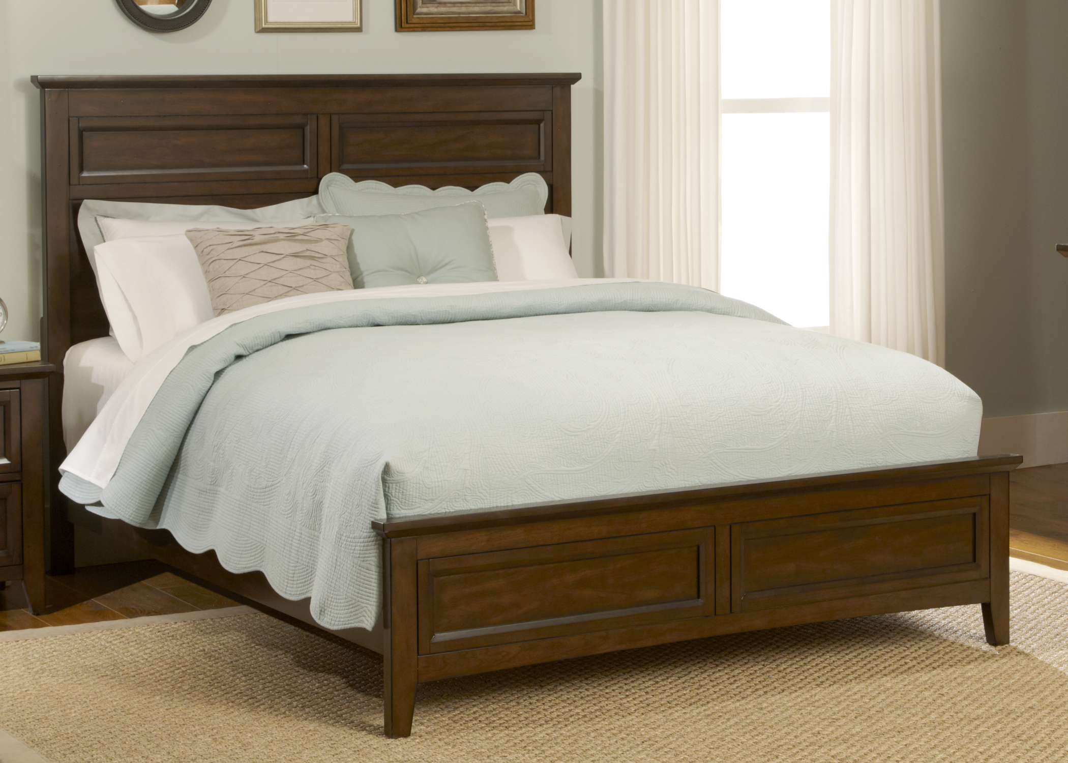 Liberty Furniture Queen Panel Footboard