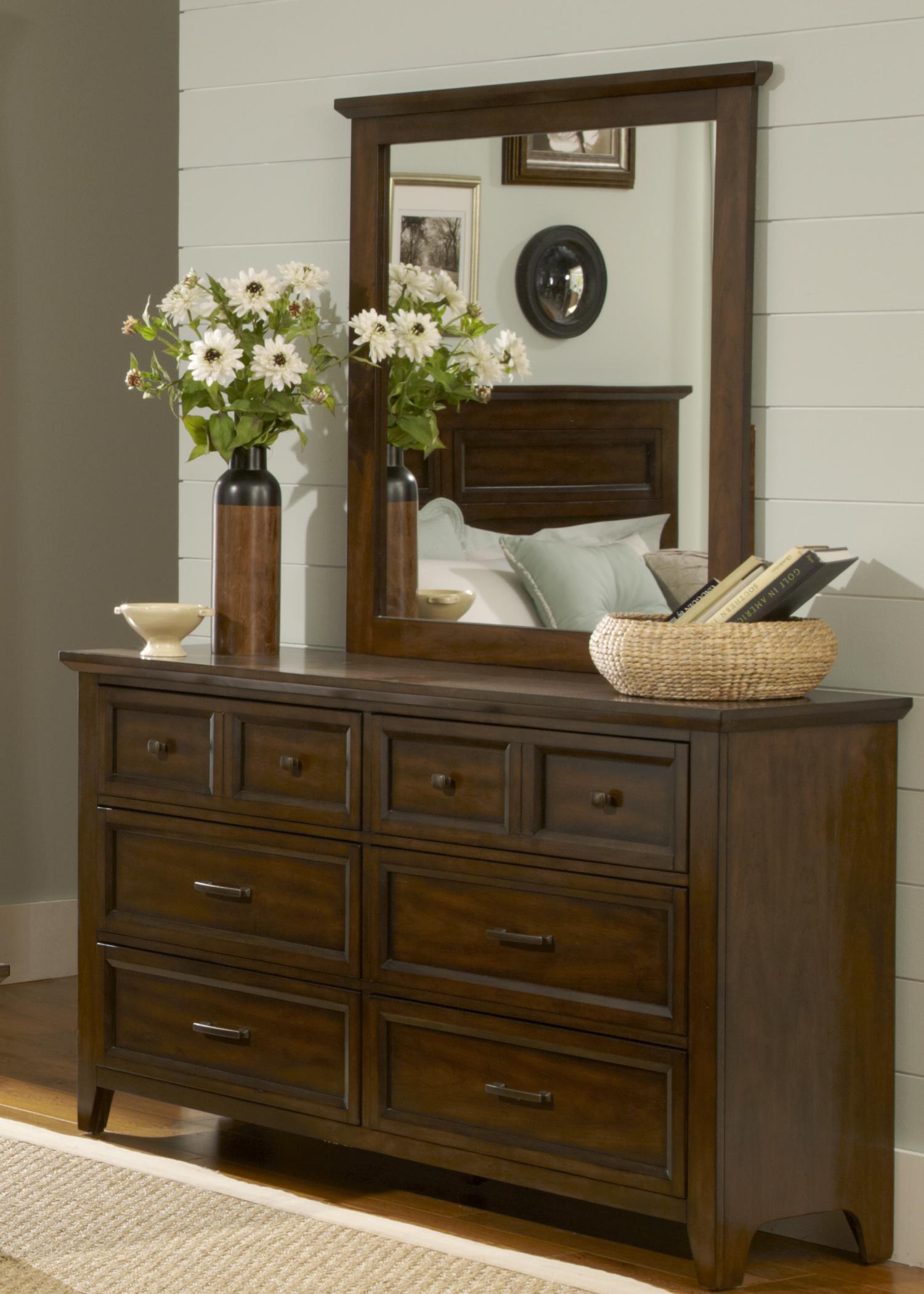 Model: 461-BR31 | 6 Drawer Dresser