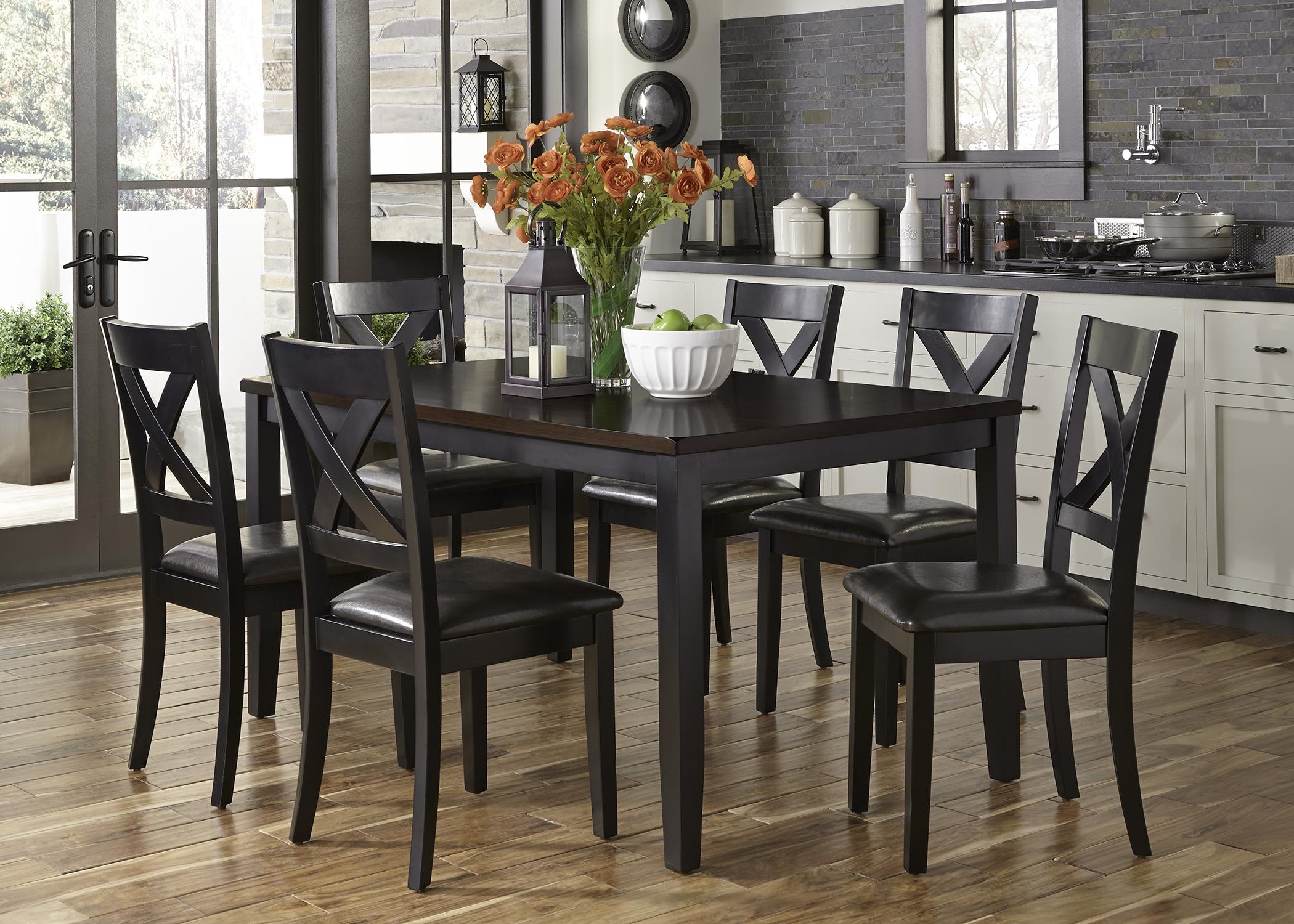 Liberty Furniture 7 Piece Rectangular Table Set