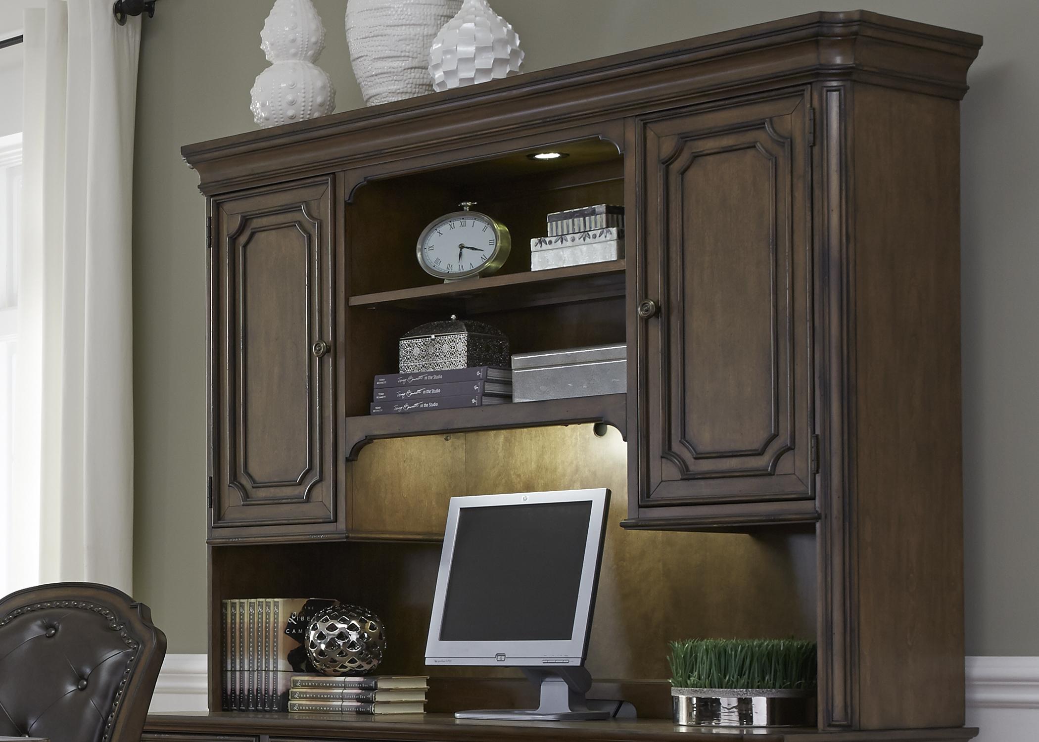 Liberty Furniture Jr. Executive Credenza Hutch