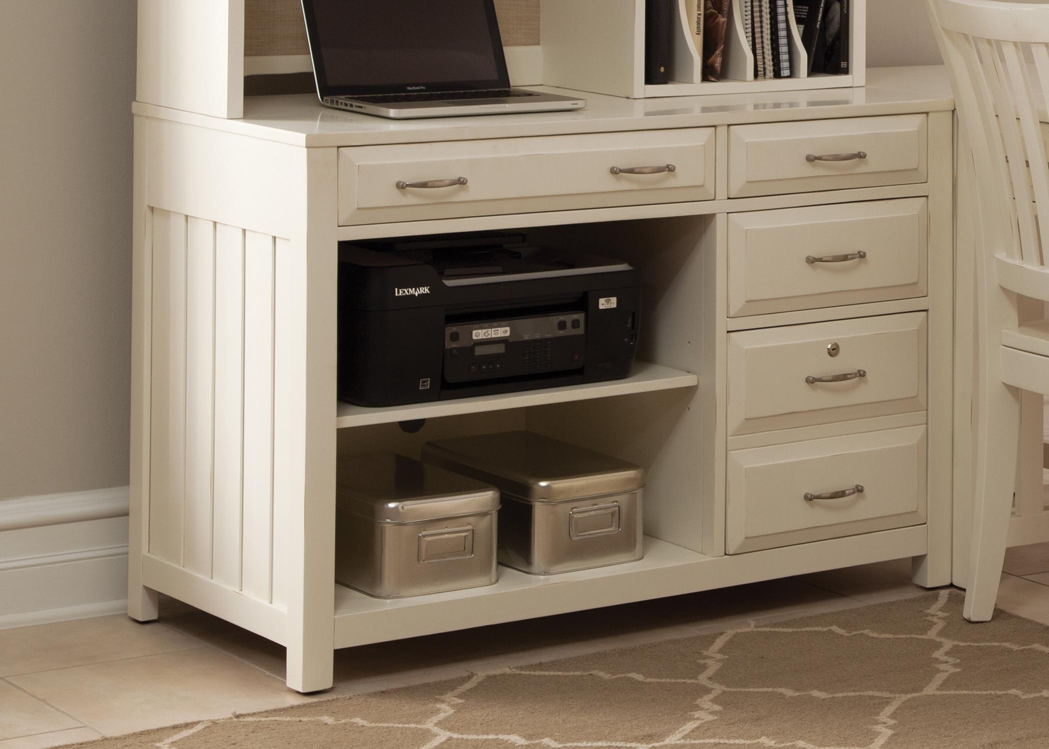 Model: 715-HO121   Liberty Furniture Computer Credenza