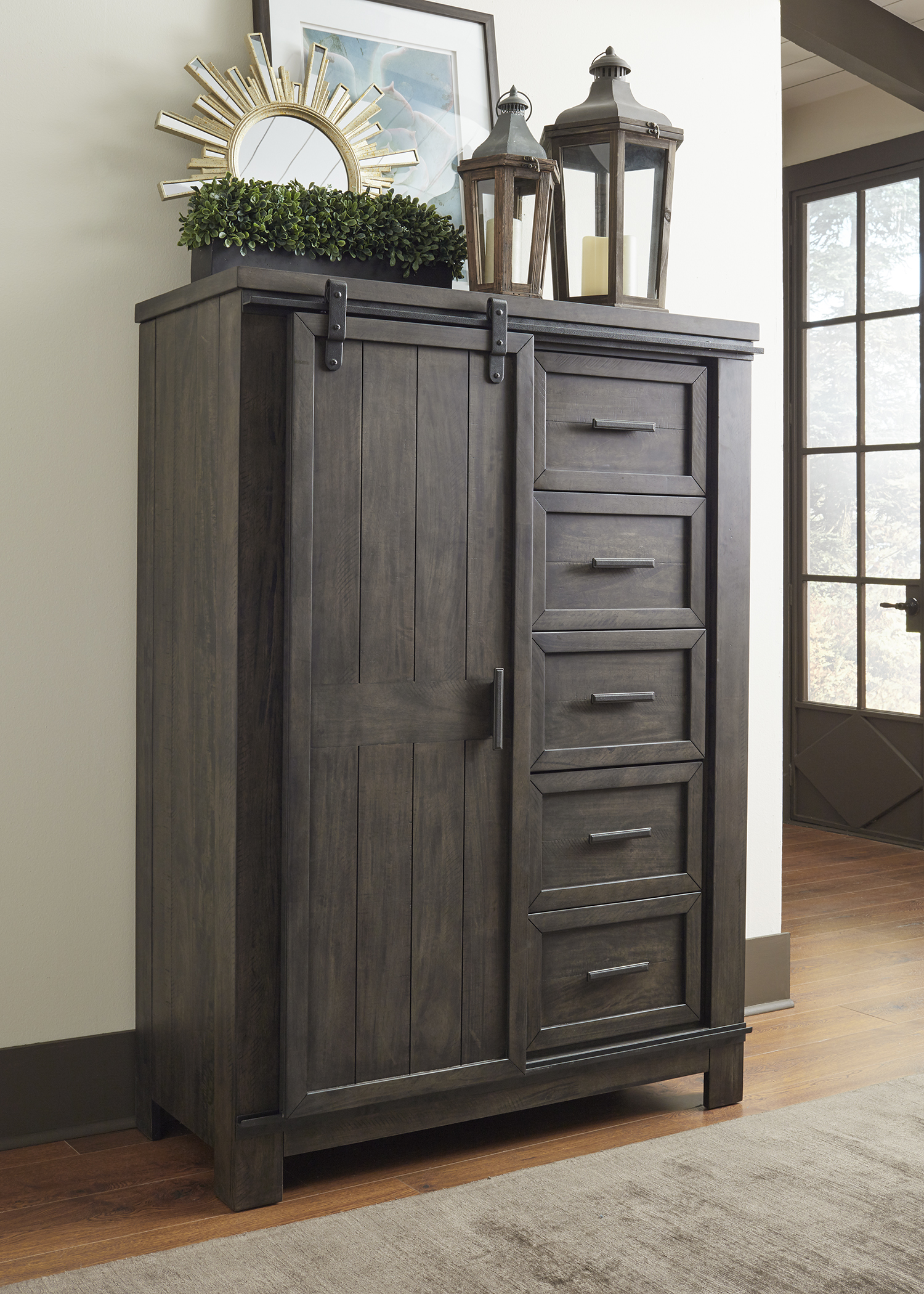 Liberty Furniture Sliding Door Chest