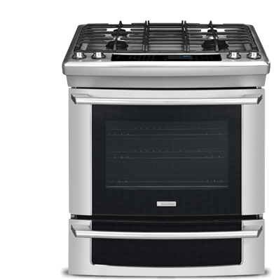 "Model: EI30GS55JS | Electrolux 30"" Natural Gas Built-In Range with IQ-Touch™ Controls"