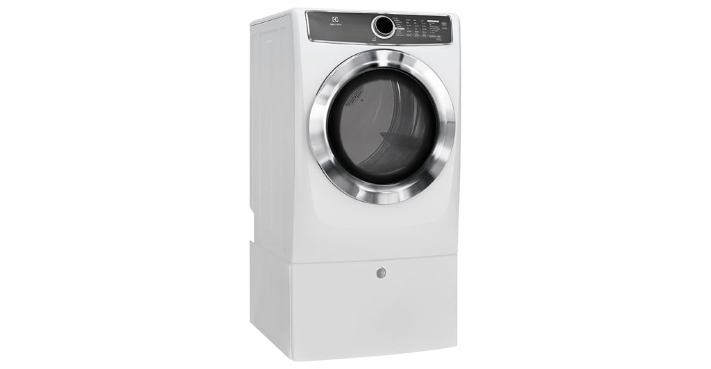 Front Load Perfect Steam™ Gas Dryer with Instant Refresh and 9 cycles - 8.0. Cu. Ft.