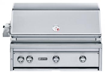 "Lynx  36"" Built-in Grill with ProSear Burner and Rotisserie"