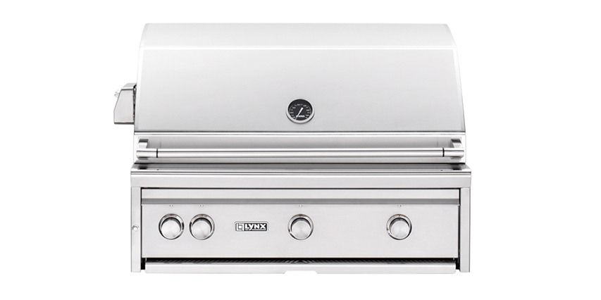 "Lynx 36"" Built-in Grill with ProSear 2 Burner and Rotisserie"