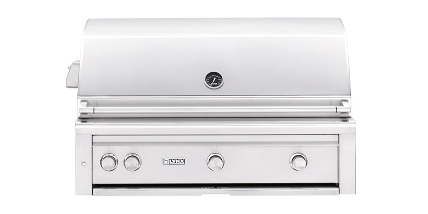 "Lynx 42"" Built-in Grill with ProSear Burner and Rotisserie"