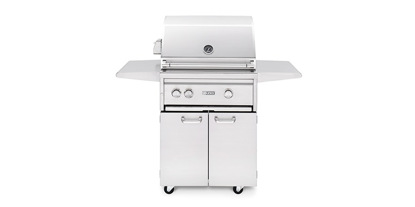 "Lynx 27"" Freestanding Grill with ProSear 2 Burner & Rotisserie- LP Gas"