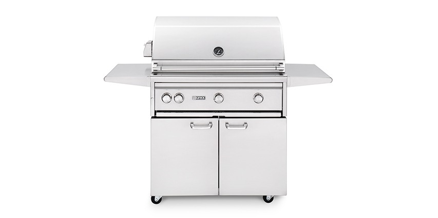 """Lynx 36"""" Freestanding Grill with ProSear Burner and Rotisserie"""