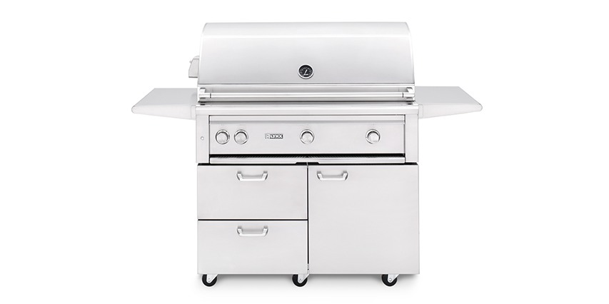 "Lynx 42"" Freestanding Grill with ProSear 2 Burner and Rotisserie"