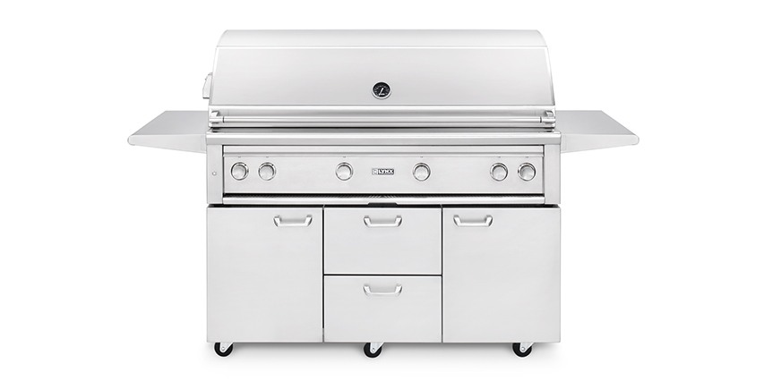 "Lynx 54"" Freestanding Grill with ProSear 2 Burner and Rotisserie"