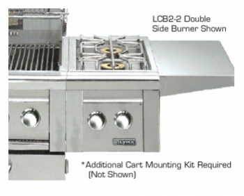 Lynx Single Side-Burners for cart mounted application