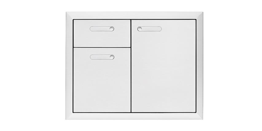 Lynx Lsa30 4 30 Ventana Storage Door Double Drawer Combination