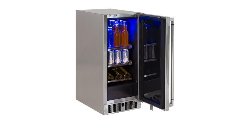 15 inch Refrigerator, Left Hinge