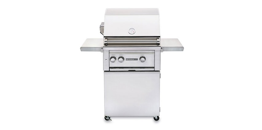 """Lynx 24"""" Freestanding Stainless Steel Grill with Rotisserie"""