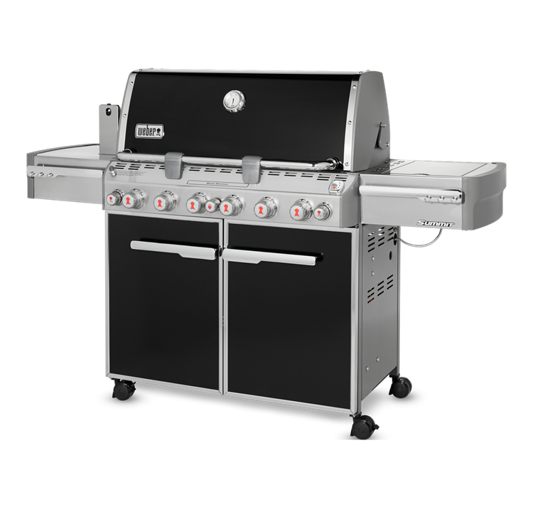 Model: 7371001 | Weber Summit E-670 Gas Grill - LP Gas