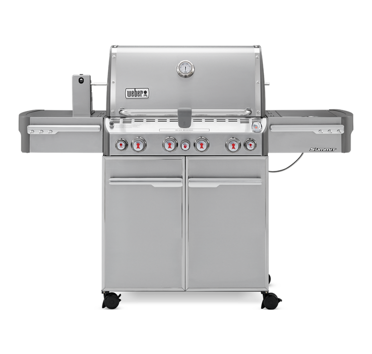 Weber Summit S-470 Gas Grill - LP Gas