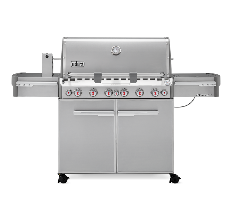 Weber Summit S-670 Gas Grill - LP Gas