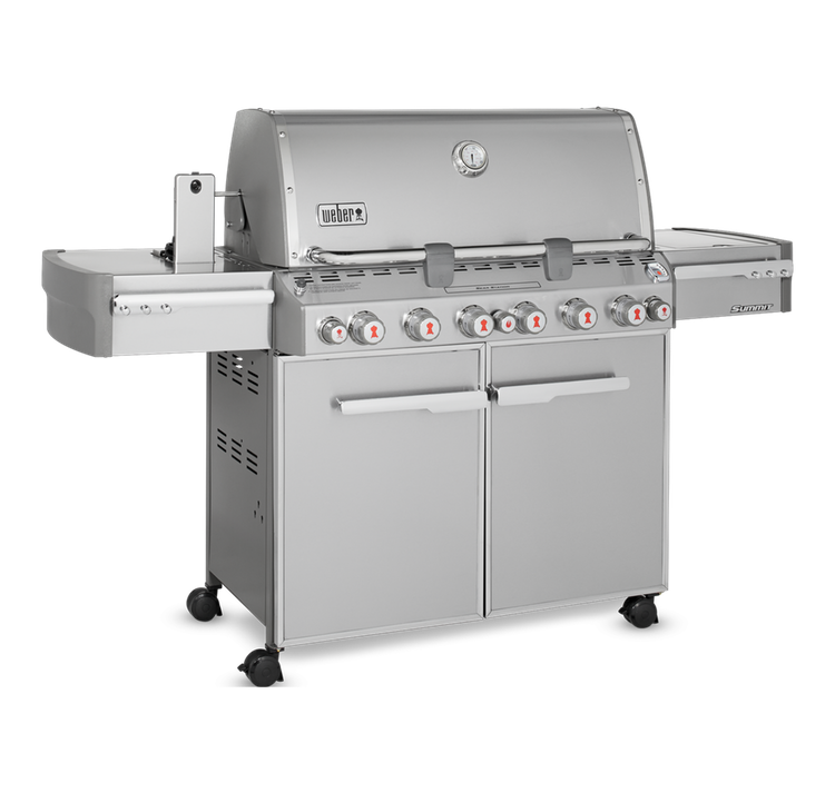 Model: 7370001 | Weber Summit S-670 Gas Grill - LP Gas