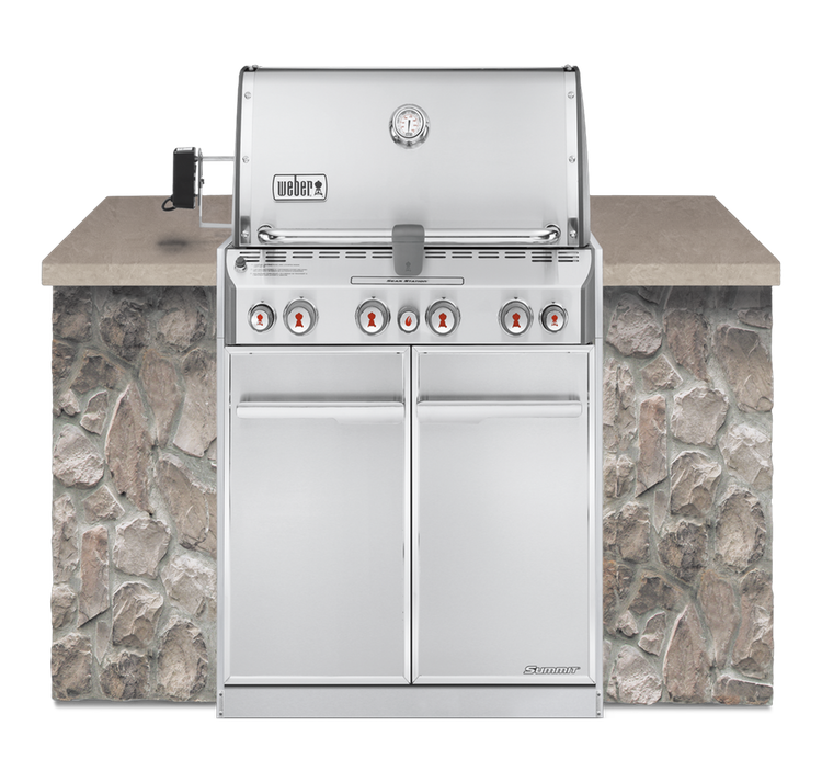 Summit S-460 Built-In Gas Grill - Natural Gas