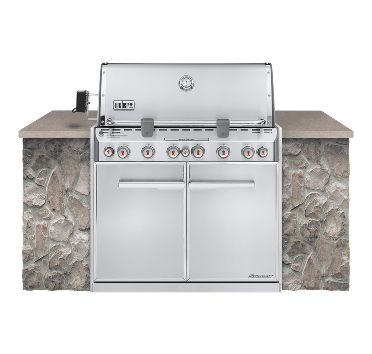 Model: 7360001 | Summit S-660 Built-In Gas Grill - LP Gas