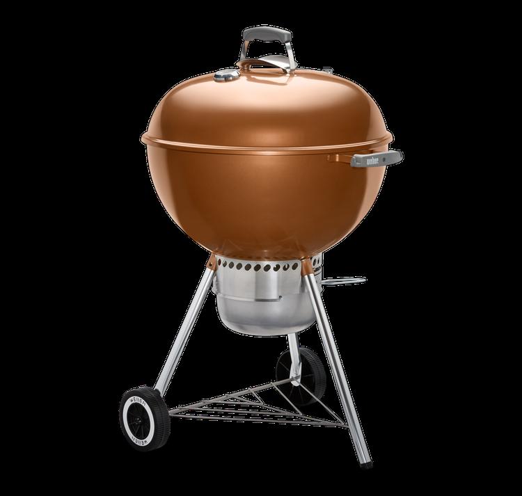 "Model: 14402001 | Weber Original Kettle Premium Charcoal Grill 22"""