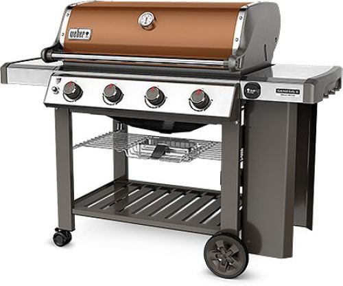 Weber Genesis II SE-410 Copper Liquid Propane Outdoor Grill