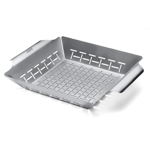 Weber Deluxe Grilling Basket- Pack of 4