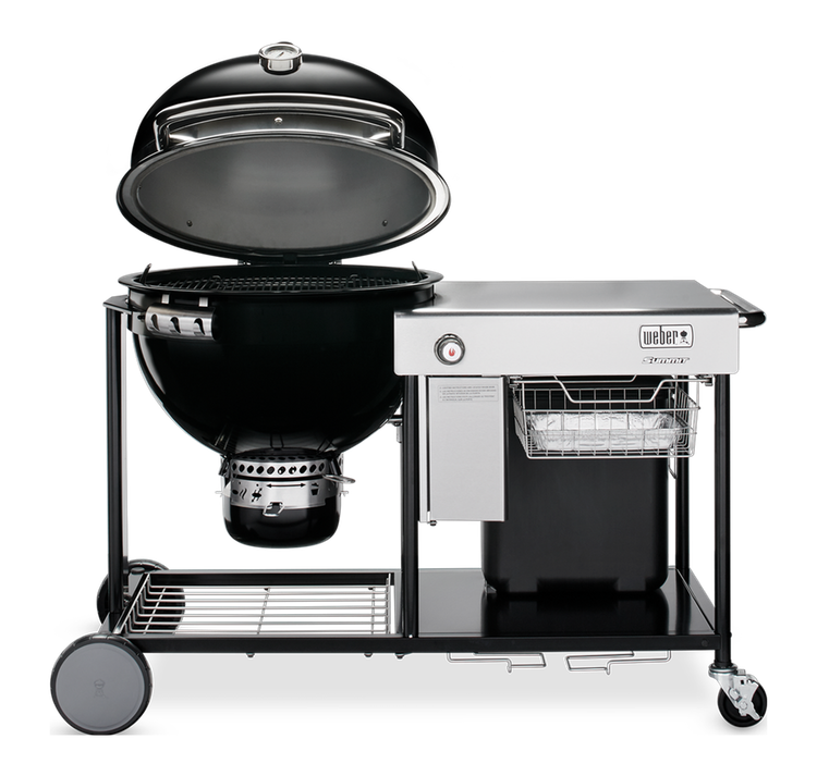 "Model: 18501001 | Weber Summit 24"" Charcoal Grilling Center"