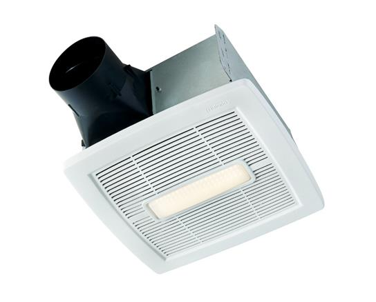 InVent Series Single-Speed Fan With LED Light 110 CFM 1.0 Sones, ENERGY STAR certified product