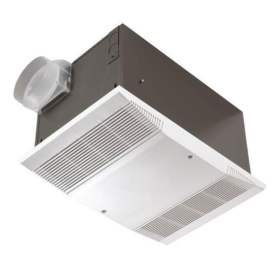 Heater/Fan, 1500W Heater, 70 CFM; Ventilation Fans