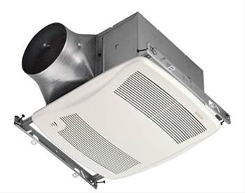 ULTRA GREEN Series Motion Sensing 80 CFM Multi-Speed Ventilation Fan/Light, with white grille, Recognized as ENERGY STAR Most Efficient 2017