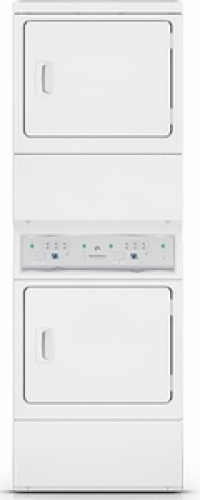 Model: ASEE8AGW173TW01 | Stacked Electric Dryer