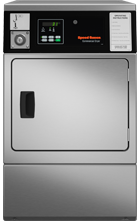Quantum Front Control Stainless Steel Single Dryer
