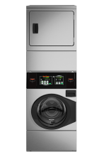 Quantum Stack Washer/Dryer Stainless Cabinet