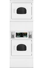 Quantum Commercial Stack Dryer Window - Shorter