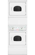 Electronic Homestyle Commercial Stack Dryer Window Door