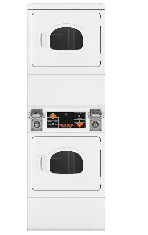 Coin Slide Stack Dryer Window
