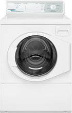 Manual Commercial Homestyle Rear Control Front Load Washer
